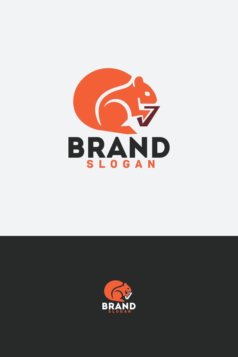 squirrel logo template  64694