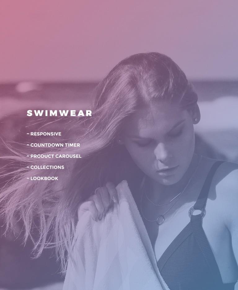Swimwear Responsive OpenCart Template New Screenshots BIG
