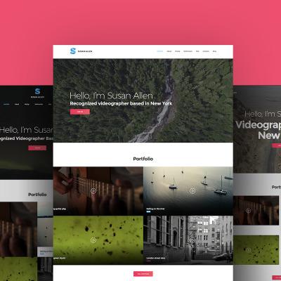 Videographer Templates | TemplateMonster