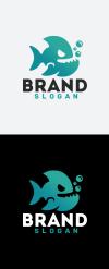 Wild Fish Logo Template New Screenshots BIG