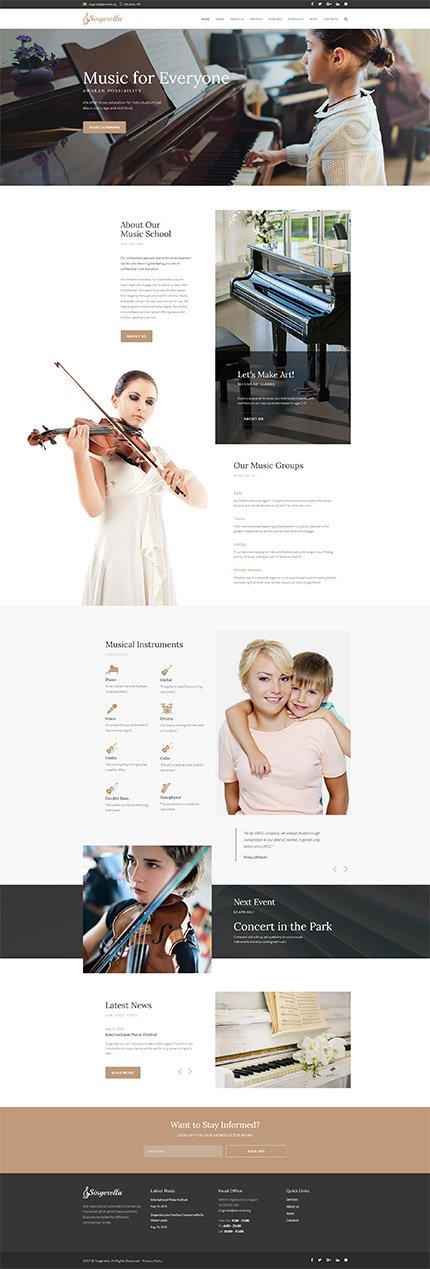 Website template 64732