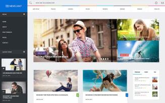 News 24x7 - Trendy Blog, News & Magazine Website Template