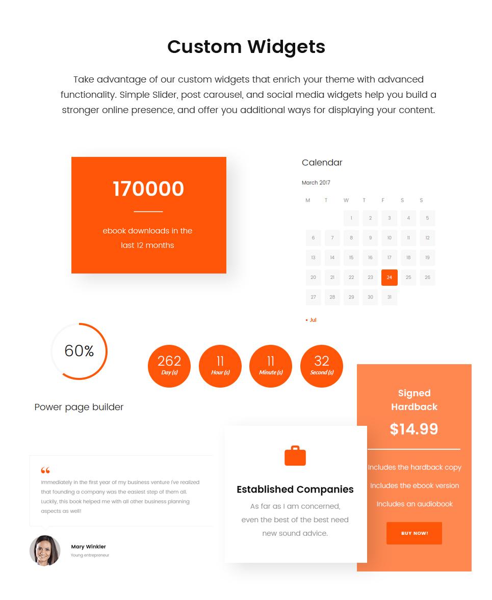 Website Design Template 64763 - startap company