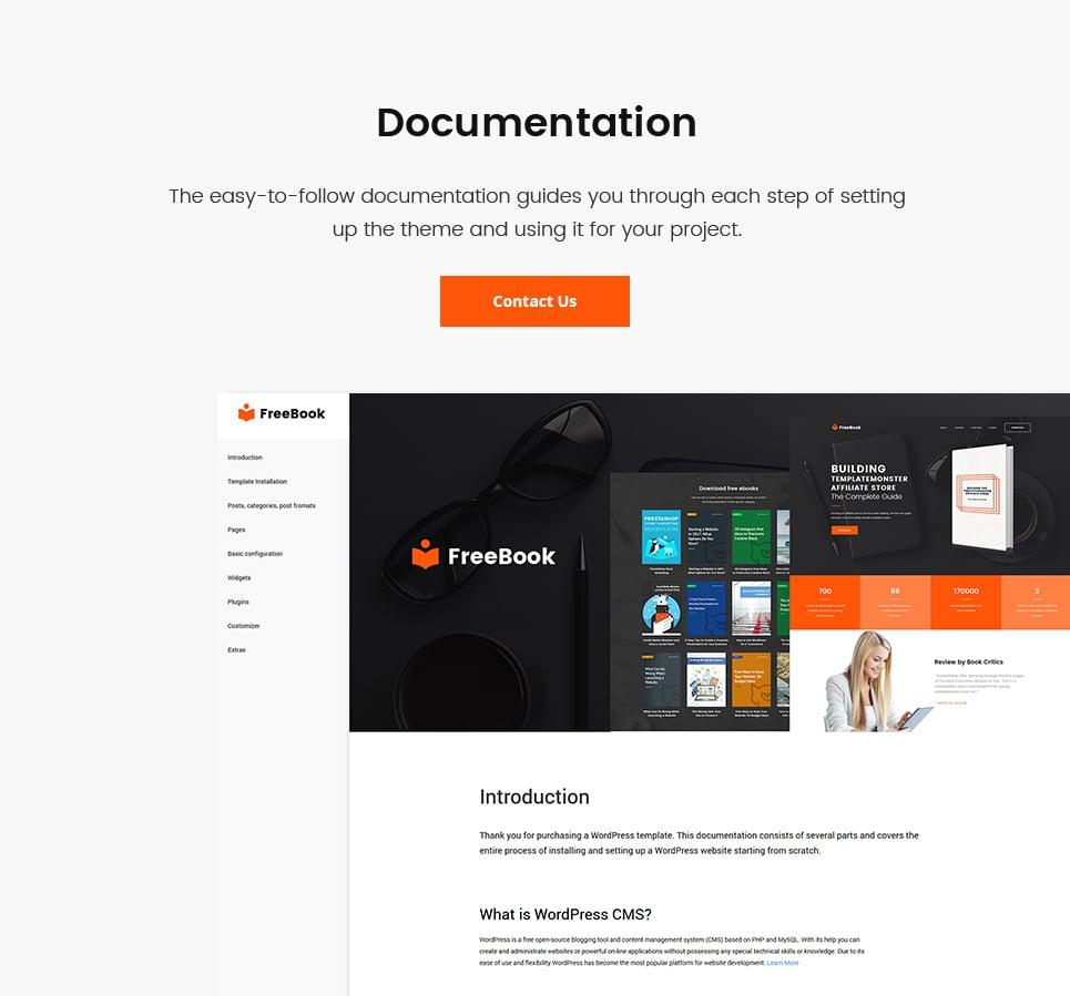Website Design Template 64763 - power testimonials blogging landing education books startap company