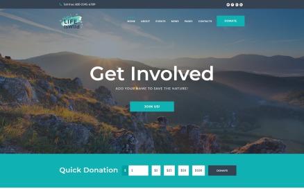 LifeisWild - Wild Life WordPress Theme