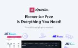 Bitunet - Elementor WordPress šablona na téma Kryptoměny