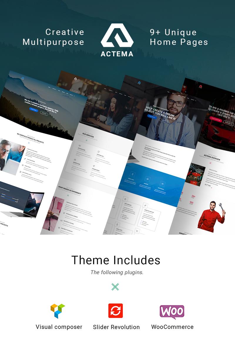 Actema - Creative Business Multipurpose WordPress Theme - screenshot