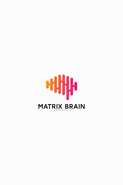 Brain Matrix Logo Template #64795