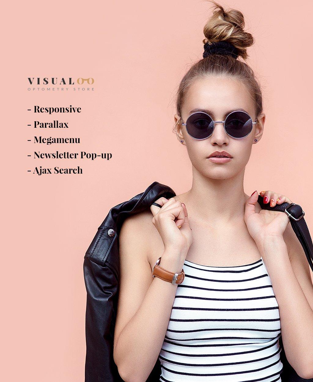 Eye Glasses Responsive OpenCart Template - screenshot
