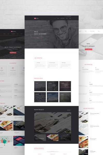 Готовый сайт №64769 на тему веб-дизайн