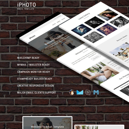 iPhoto - Responsive Newsletter Template