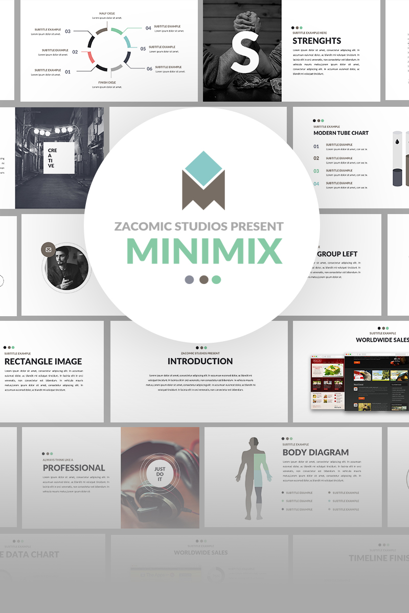 Minimix Powerpoint Presentation №64770 - скриншот