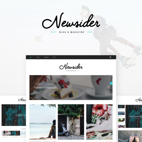 Newsider - WordPress Template based on Bootstrap