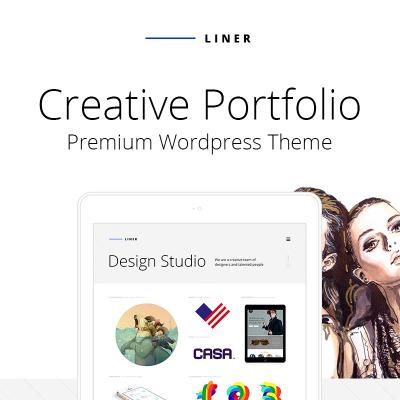 Tema WordPress Flexível para Sites de Galerias de Arte №64740