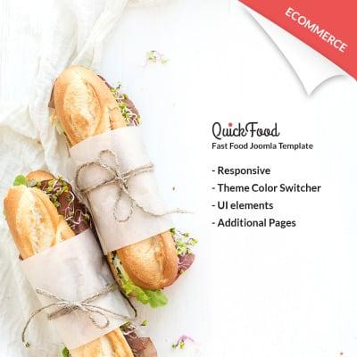 Flexível template Joomla №64745 para Sites de Fast Food