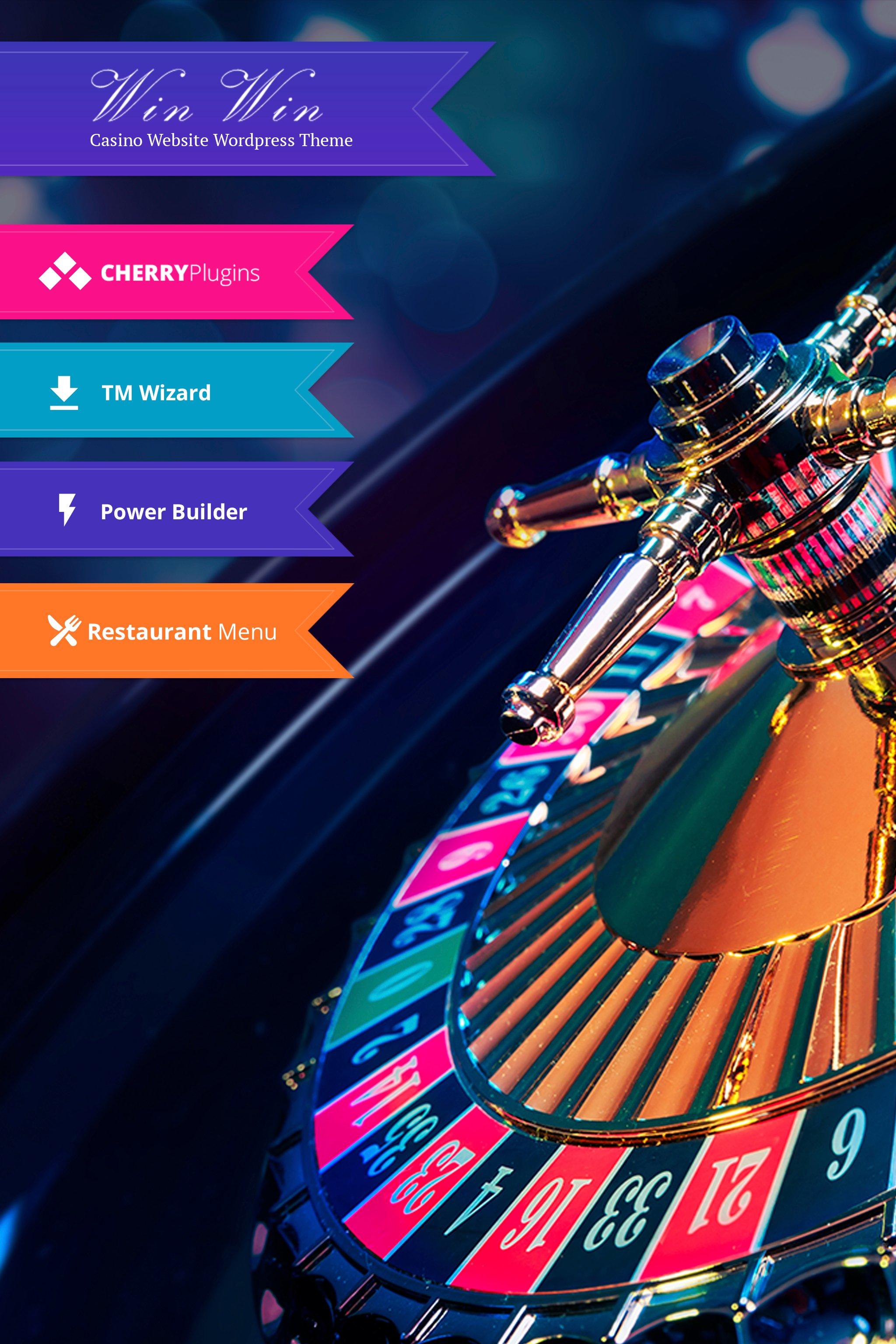 """WinWin - Casino Website WordPress Theme"" thème WordPress adaptatif #64702"