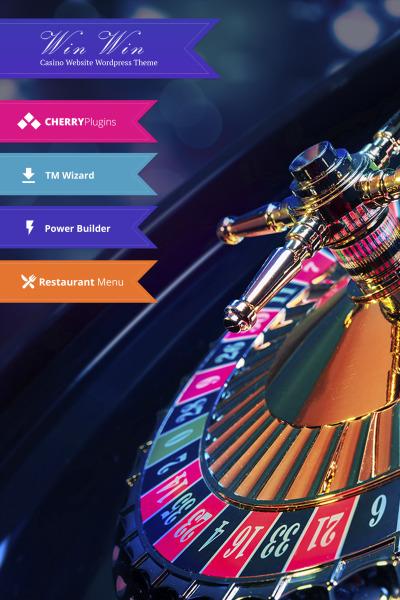 WinWin - Casino Website WordPress Theme