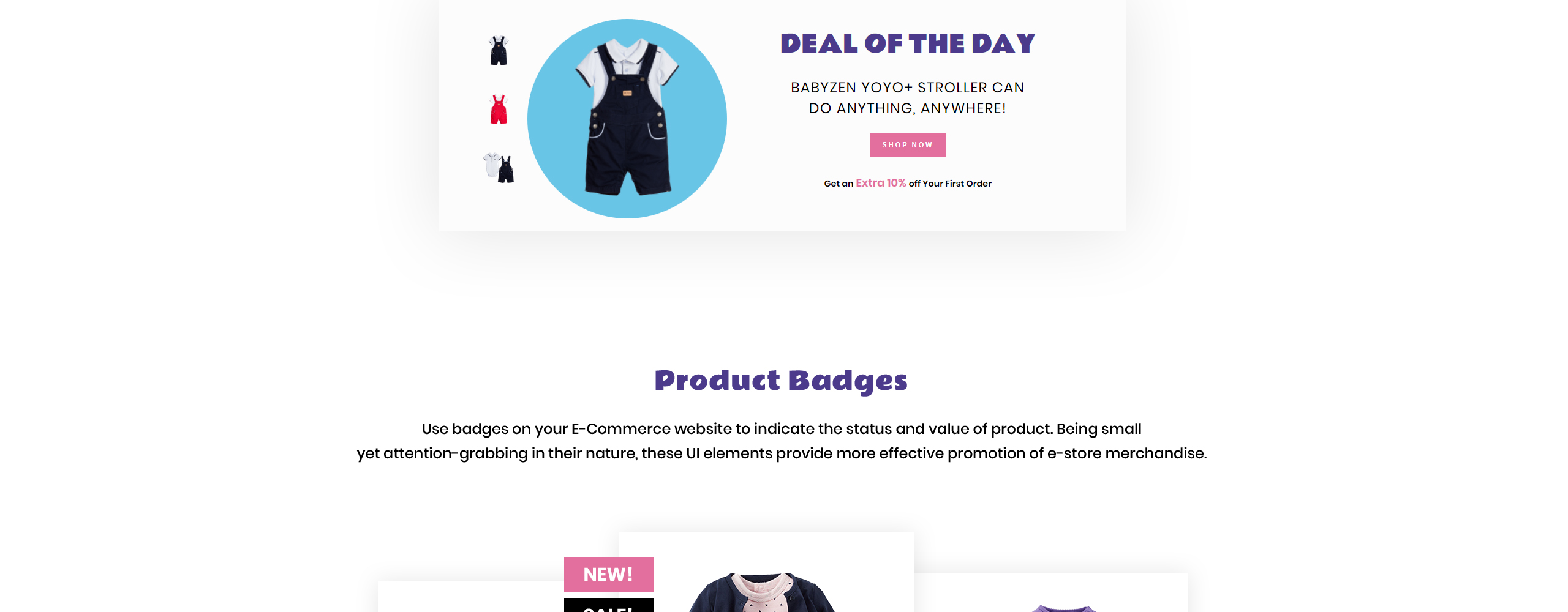 WholeSale - Baby Store OpenCart Template