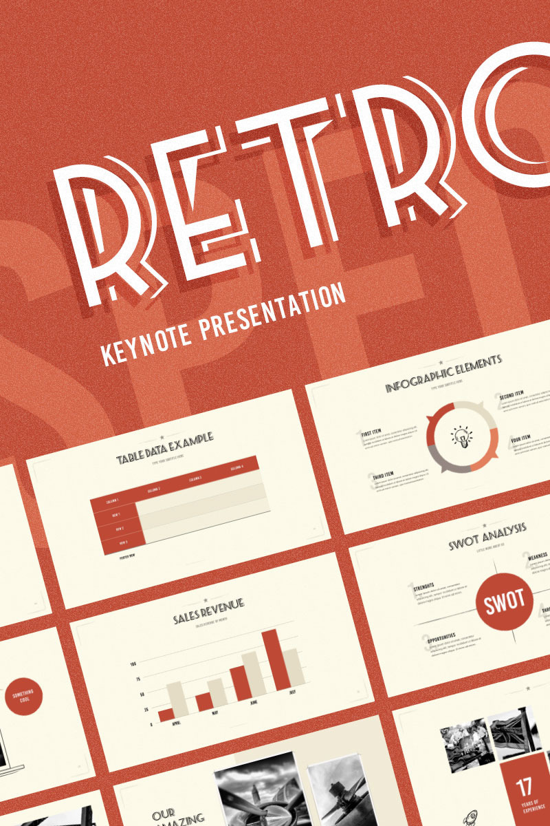 Cafe And Restaurant Keynote Template | Website Templates