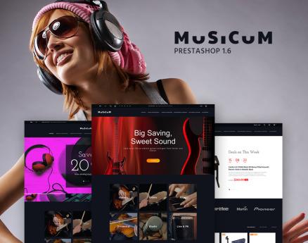 Musicum PrestaShop Theme