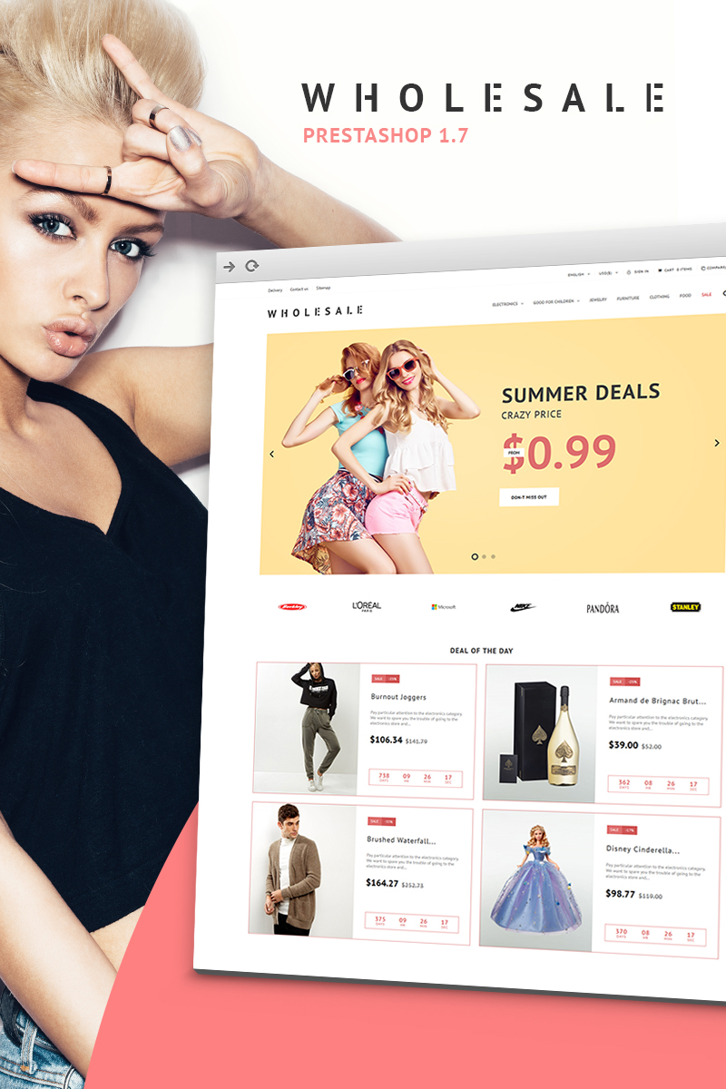 Business PrestaShop Theme