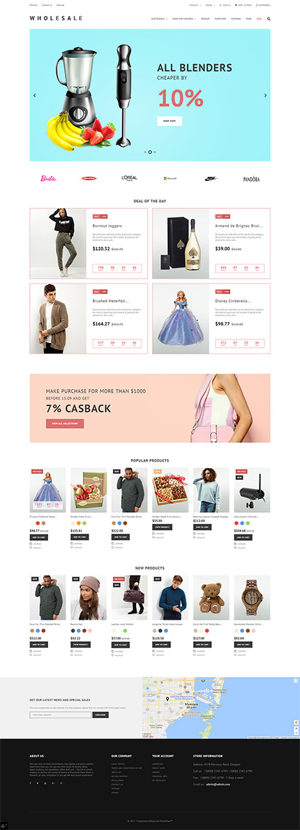 Business PrestaShop Theme  2