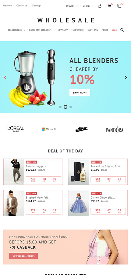 Business PrestaShop Theme  3