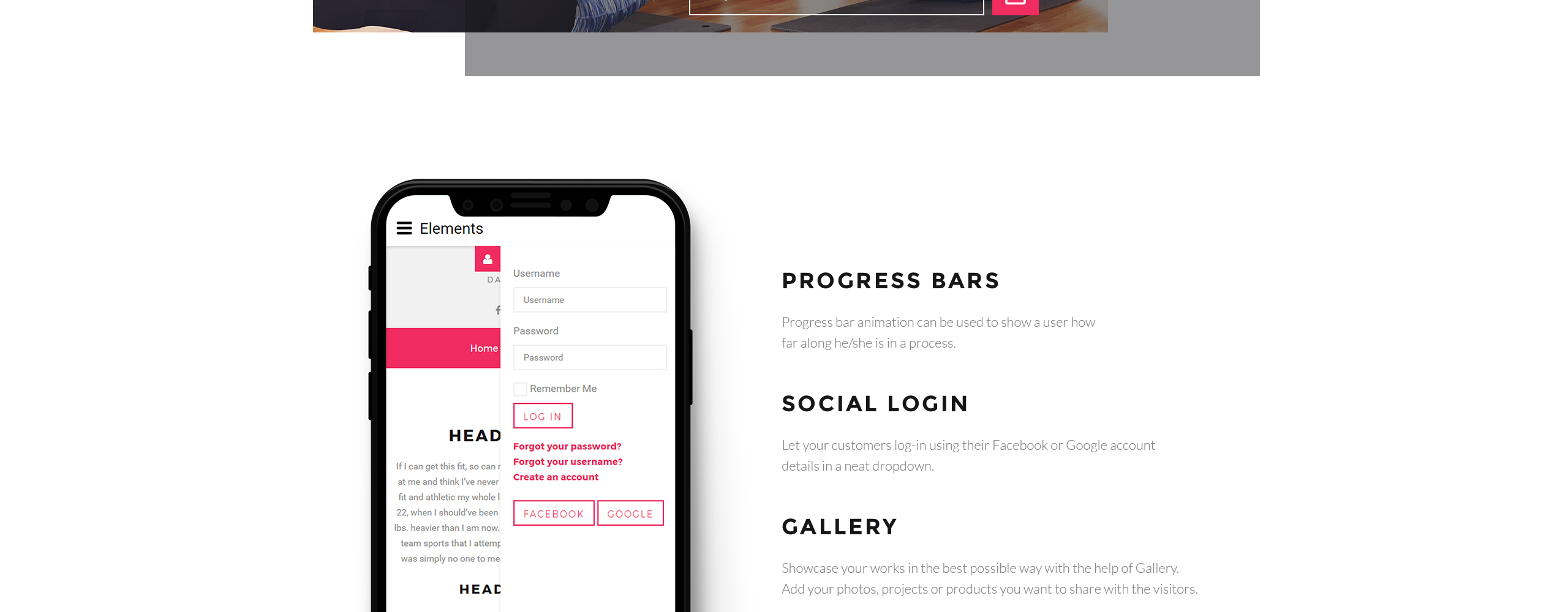 Kate Johnson - Dance Trainer Joomla Template