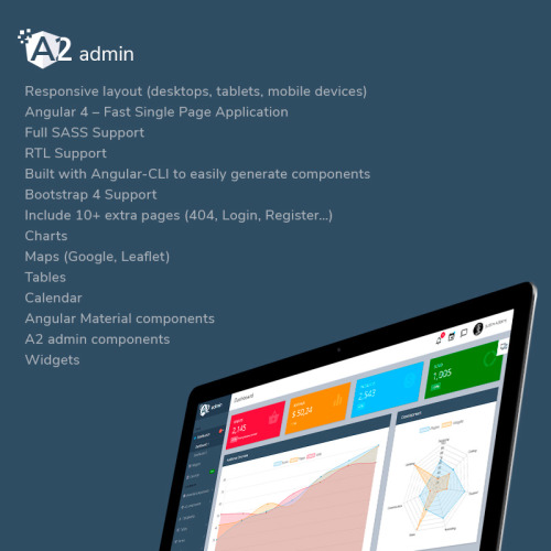 A2 Admin - Admin Template based on Bootstrap