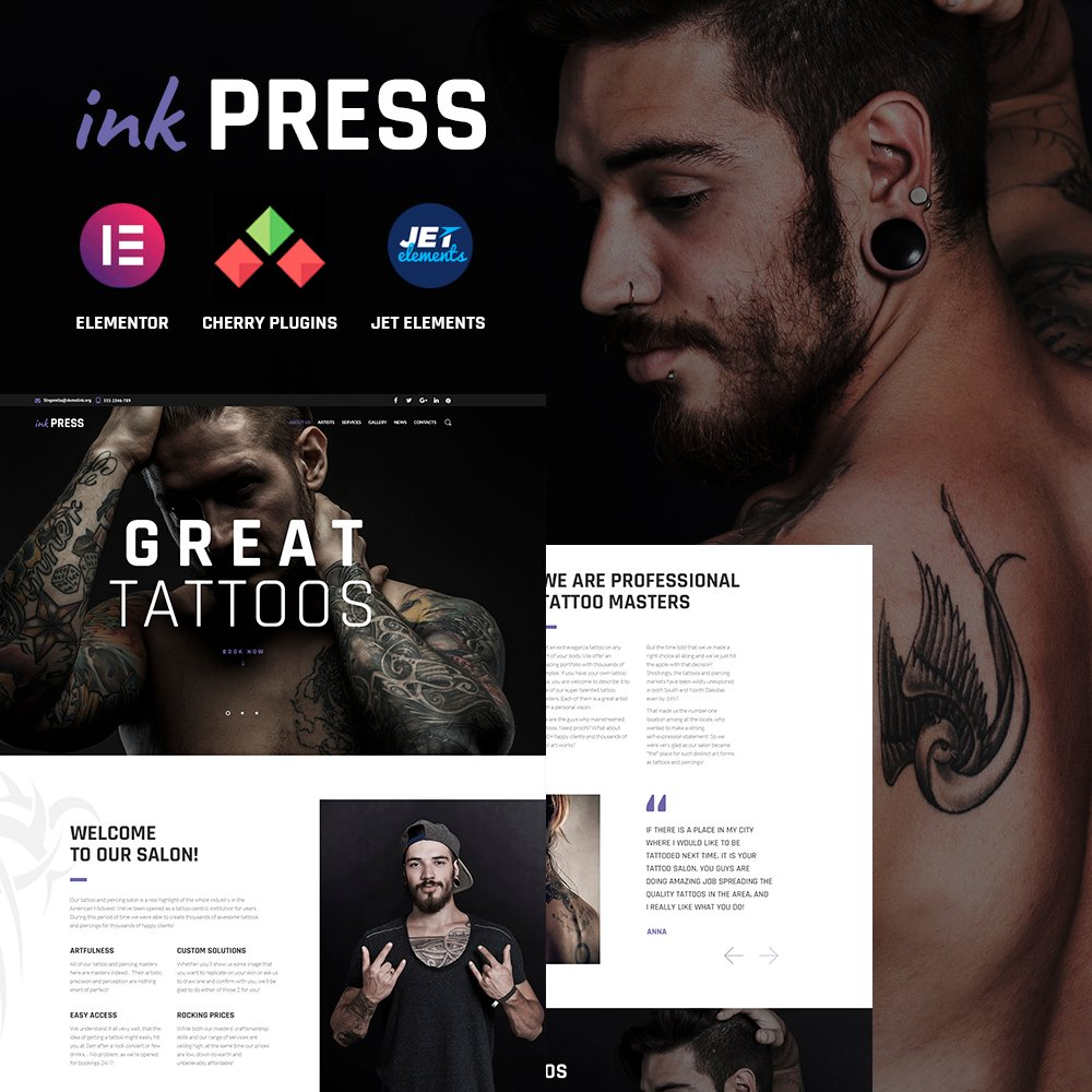 InkPress WordPress Theme WordPress Theme