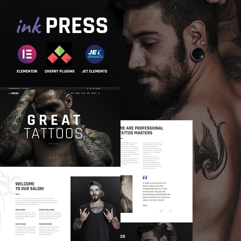 """InkPress WordPress Theme"" 响应式WordPress模板 #64885"