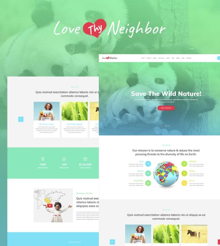 WordPress Theme #64863 für Vögel