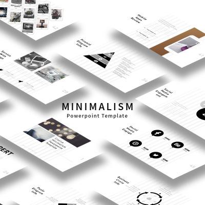 Minimalism powerpoint template 64829 business powerpoint template toneelgroepblik Choice Image