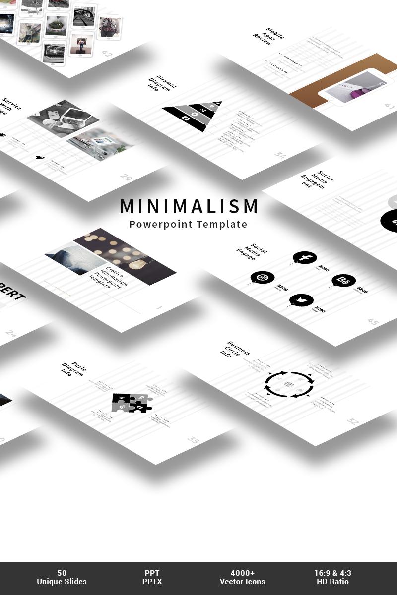 Minimalism PowerPoint Template - screenshot