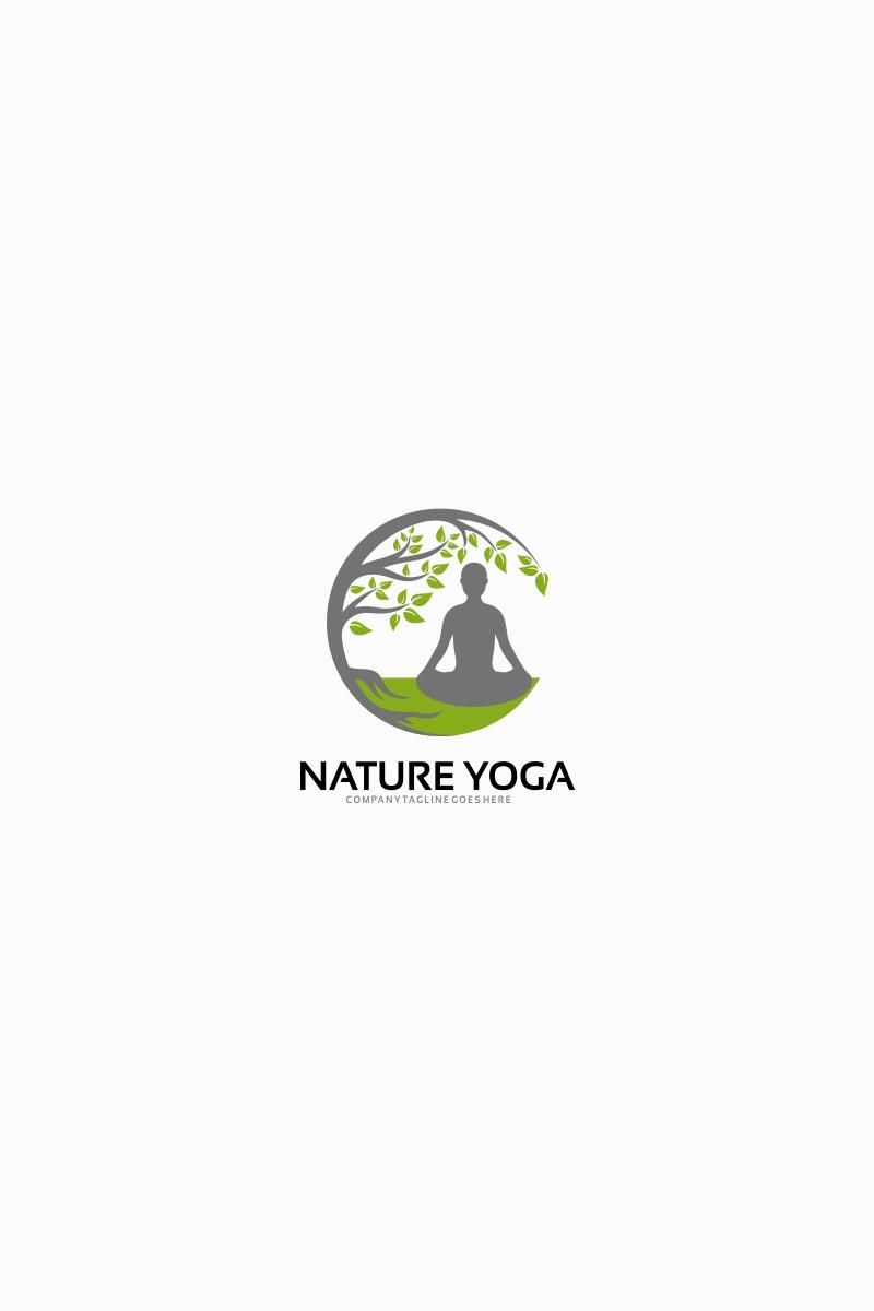 Nature Yoga Logo Template Logo Template 64821