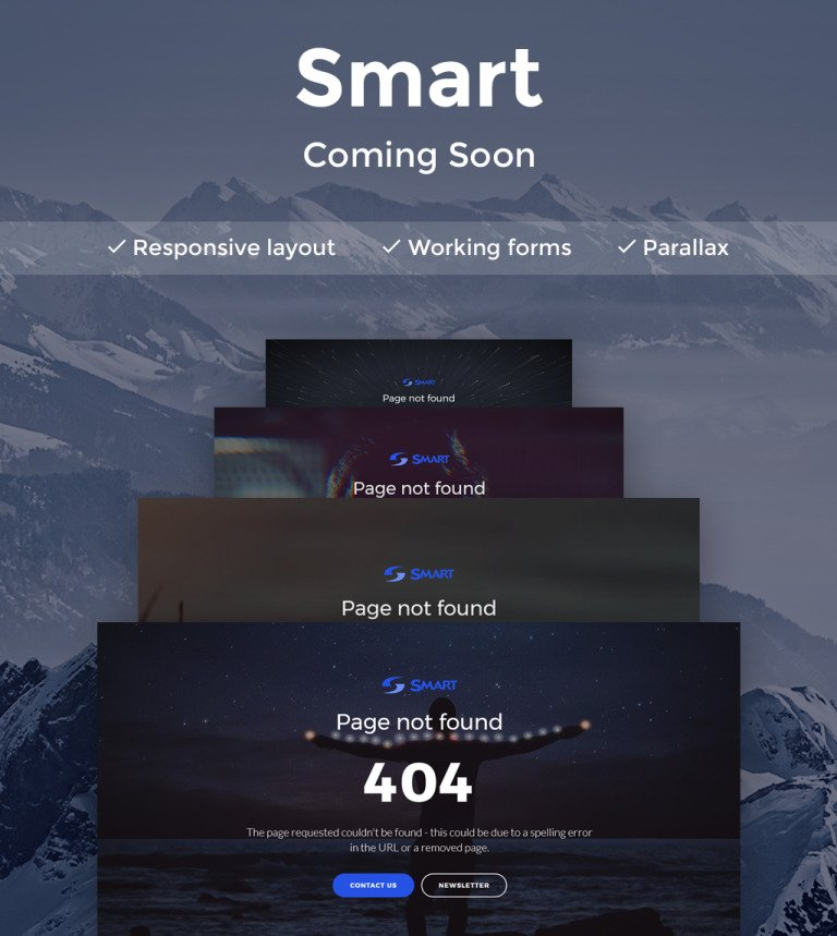 Page not found 404 html5 template smart page not found 404 html5 specialty page new screenshots big maxwellsz