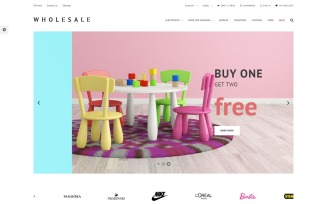 Wholesale Store Responsive PrestaShop Theme
