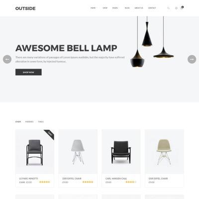 WooCommerce Theme #64841 für Mode