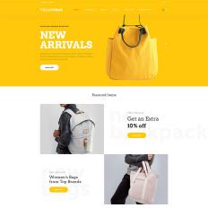 Yellowbag Handbag Responsive