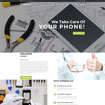 Preview image of iRepair - Electronics Repair WordPress Theme