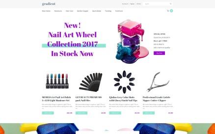 Beauty OpenCart Template