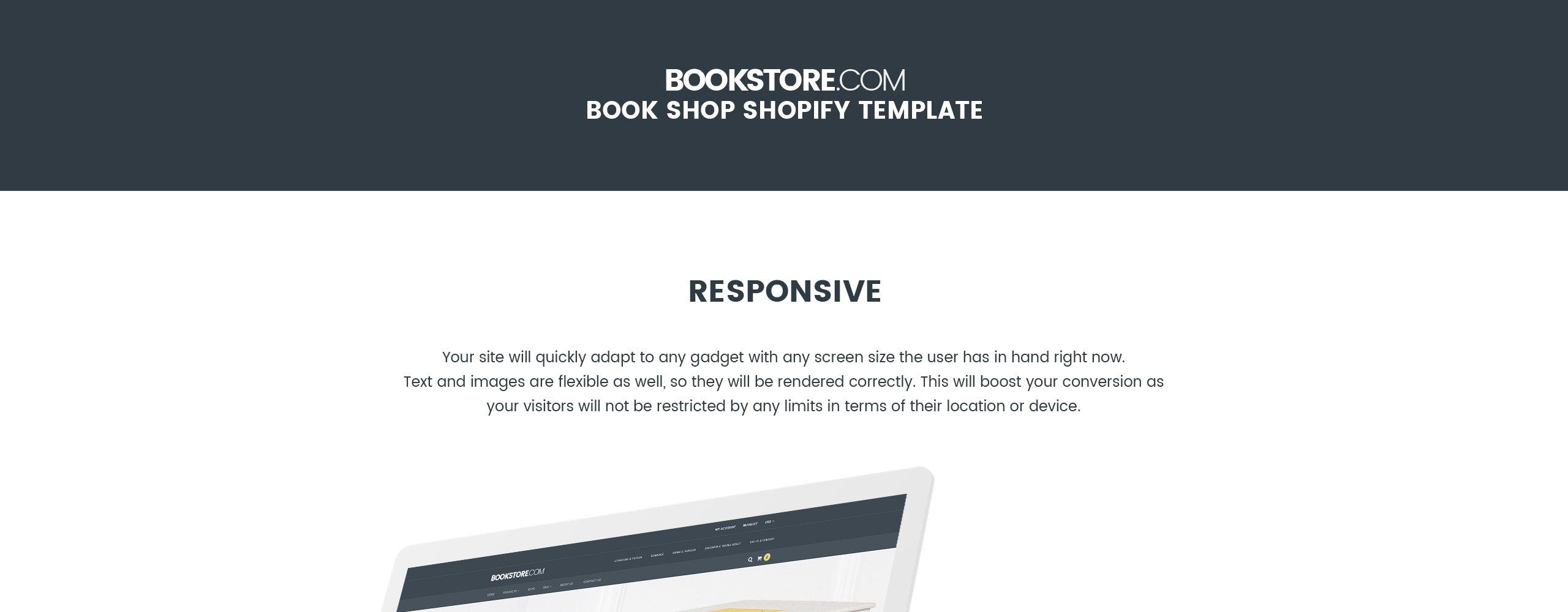 Bookstore.com Books  Responsive Shopify  Theme