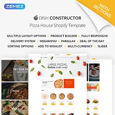 Preview image of Food & Drink Shopify Theme No. 64928