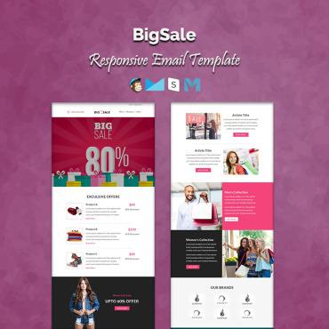 Купить  пофессиональные Email шаблоны. Купить шаблон #64984 и создать сайт.