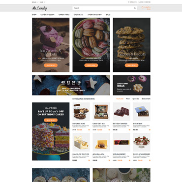 Preview image of Food & Drink OpenCart Template No. 64990
