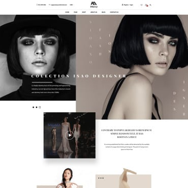 Preview image of Mercy - Stunning Fashion eCommerce