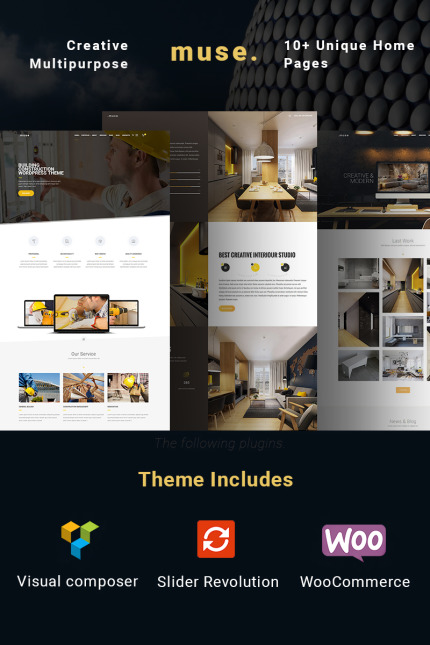 Website Design Template 64997 - corporate creative multipurpose builder portfolio building architecture company construction contractor industry interior repair plumber reconstruction renovation tiling