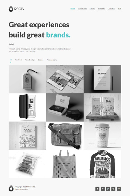 Website Design Template 64998 - business clean corporate creative modern multipurpose photography responsive retina gallery professional fashion restaurant travel agency fullscreen minimalist