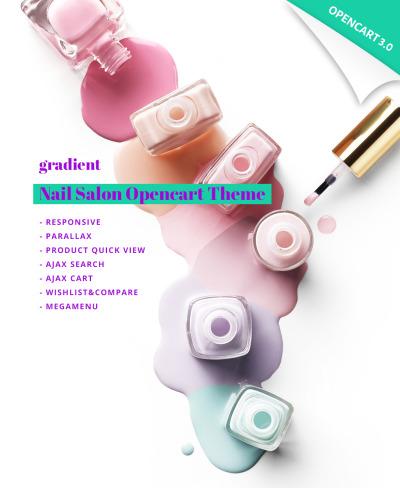 Адаптивный OpenCart шаблон №64926 на тему магазин косметики #64926