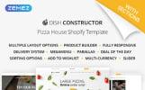 Адаптивный Shopify шаблон №64928 на тему еда и ресторан